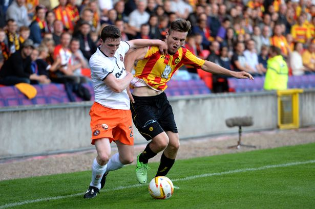 Partick Thistle vs Dunde