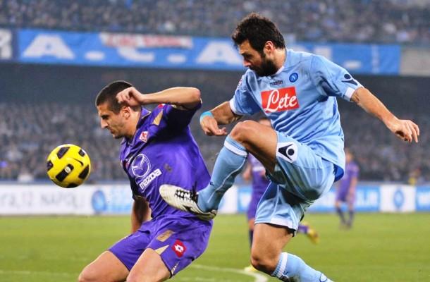 Napoli vs Fiorentina  25 Januari 2017