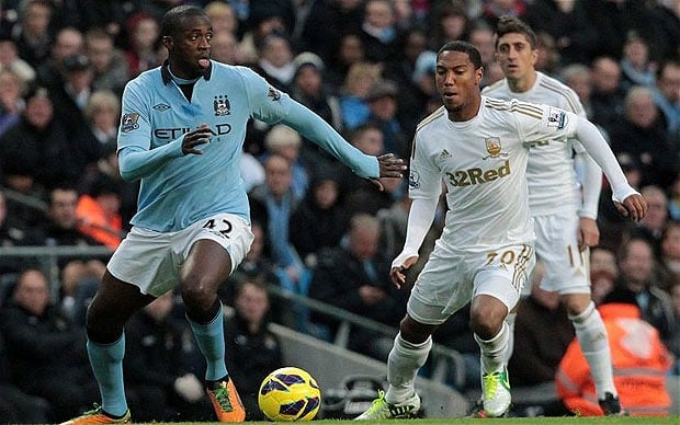 Prediksi Manchester City vs Swansea City 5 Februari 2017